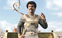 Rajinikanth the action hero
