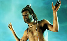 Superstar Rajinikanth in a new avatar