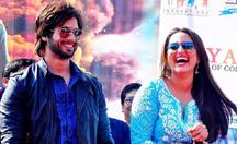Shahid Kapoor, Sonakshi Sinha promoting 'R...Rajkumar' in Jaipur