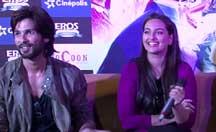 Shahid Kapoor, Sonakshi Sinha, Prabhu Dheva promoting 'R...Rajkumar' in Pune