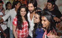 Fans screening with Shahid Kapoor