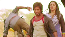 Shahid Gets Violent For Love