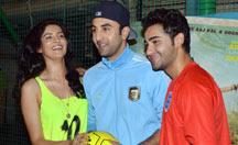Ranbir Kapoor versus Armaan Jain Football Match