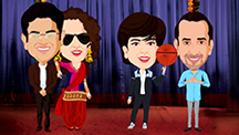 Exclusive Caricature Teaser