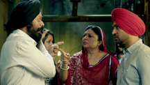 Diljit Reunites With His Family