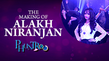Alakh Niranjan Making of the Song