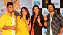 Trailer launch of Happy Phirr Bhag Jayegi