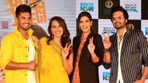 Trailer launch of Happy Phirr Bhag Jayegi