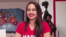Sonakshi Sinha promotes Happy Phirr Bhag Jayegi