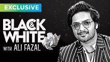 Exclusive Black & White - Ali Fazal