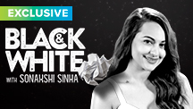 Exclusive Black & White - Sonakshi Sinha