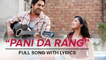 Pani Da Rang - Full Song With Lyrics