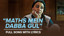Maths Mein Dabba Gul - Full Song With Lyrics