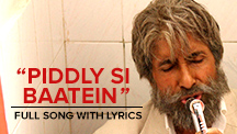 Piddly Si Baatein - Full Song With Lyrics