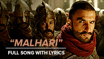 Malhari - Full Song With Lyrics