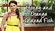 Honey and Orange Glazed Fish