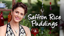 Saffron Rice Puddings