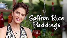 Saffron Rice Puddings