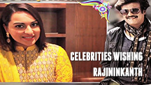 Celebrities Wishing Rajinikanth