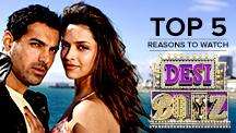 Top 5 Reasons to Watch Desi Boyz