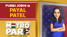 Purbi Joshi is Payal Patel
