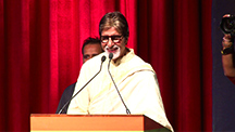 Amitabh Stuns with his Marathi Speech