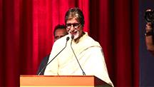 Amitabh Stuns with his Marathi Speech