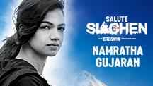 Namratha Gujaran - Siachen