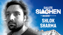 Shlok Sharma - Siachen