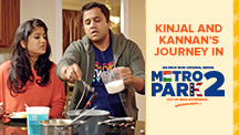 Kinjal and Kannan's journey in Metro Park
