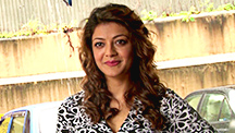 Kajal Aggarwal Shines at Do Lafzon Ki Kahaani Recording