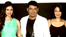 Kapil Sharma is Shy at his Own Trailer Launch
