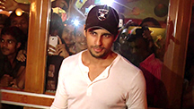 Siddharth Malhotra Spotted at Gaiety Cinema