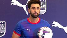 Ranbir Boasts About His Football Skills