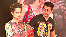 Kangana Explains Girl Speak To Imran