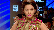 Celebs Sizzle at the Lakme Fashion Week on Indian Textile Day