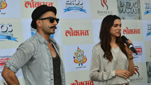 Ranveer Singh Makes A Grand Entry At The Gajanana Song Launch