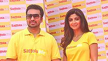 Shilpa Shetty Takes Care Of Raj Kundra's Heart