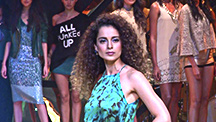 Kangana Launches Her Couture Collection