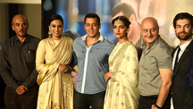 Salman at Prem Ratan Dhan Payo Launch