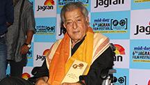 Veteran Actor Shashi Kapoor Felicitated At Jagran Film Festival