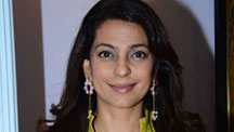 Juhi Chawla at a Photography Exhibition