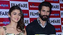 'Shaandaar' Shahid Kapoor-Alia Bhatt Unveil The Latest Cover of Filmfare