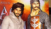 Ranveer Singh Launches Blazing Bajirao