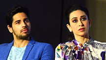 Bollywood stars Karisma Kapoor and Sidharth Malhotra come together for a Diabetes Free India