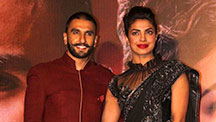 Ranveer Singh and Priyanka Chopra Meet For The First Time At Bajirao Mastani Promotions