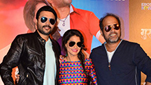 Ankush Chaudhari, Urmila Kanetkar And Director Sanjay Jadhav Unveil The Guru Poster At Plaza Theatre