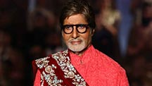 Amitabh Bachchan Turns Showstopper At 25th Anniversary Fashion Show