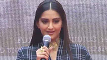 Sonam Kapoor Launches A Rock Anthem For Neerja