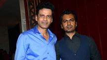 Aligarh Exclusive Screening - Manoj Bajpayee, Prateik Babbar, Nawazuddin Siddiqui